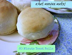 Sixty Minute Yeast Rolls
