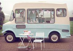 Bluebelle Classic Ice Cream Van