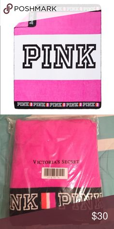 PINK Blanket PINK Blanket! Never opened, still in plastic seal! I have one and it is super soft! Comes from a pet free/smoke free home! Comment with questions and negotiations! PINK Victoria's Secret Other