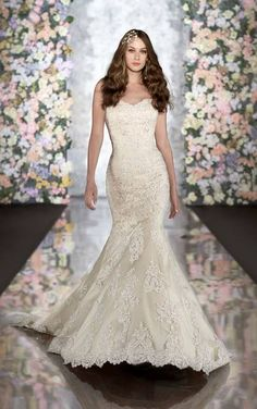 Wedding dress by Martina Liana for Essense of Australia Style #500