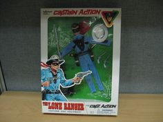 Captain Action The Lone Ranger Uniform and Equipment Playing Mantis NEW! #10005 #PlayingMantis