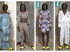 Ecclectic Aesthetic and Multi-culturalism! Loza Maleombho Presents Her Spring/Summer 2015 Collection