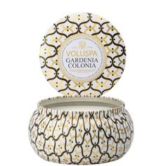 MAISON METALLO CANDLE - GARDENIA COLONIA