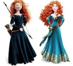 Disney: Say No to the Merida Makeover, Keep Our Hero Brave!  Why is it necessary to sex up a great character to market her as a Princess?  It's not!  Tell Disney to stop providing these images to our girls.