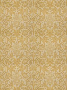 Love this gold damask floral in Jardinage Topaz for The New York Botanical Garden Collection by Vervain Traditional Design, Botanical Gardens, Damask, Topaz, Fabrics, York, Rugs, Floral, Beautiful