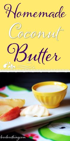 You can't believe how easy it is to make your own coconut butter! And it saves you lots of $$$ too!