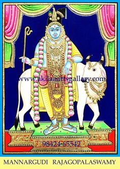 A very rare unique sketch of Mannargudi Rajagopalaswamy