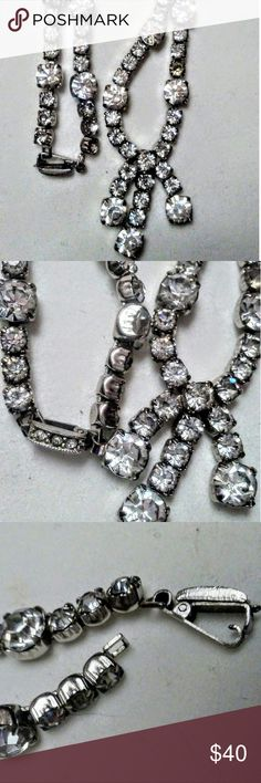 Vintage Kramer Rhinestone Necklace Vintage Kramer Rhinestone Necklace Kramer  Jewelry Necklaces
