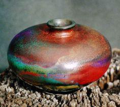M.Wein RakuSphere Copper Glaze