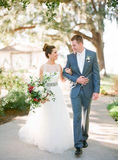 Pure magic: http://www.stylemepretty.com/2015/04/28/red-french-blue-al-fresco-estate-wedding/   Photography: Justin DeMutiis - http://justindemutiisphotography.com/