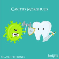 All Cavities must Die!!  #Smiline #Dental #Care #GameOfThrones