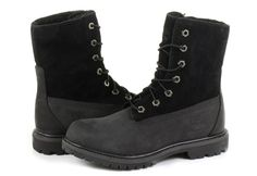 Timberland Topánky - 6 In Shearling Boot - 8149A-BLK