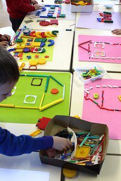 Nursery Activities, Toddler Learning Activities, Indoor Activities For Kids, Games For Kids, Art Lessons For Kids, Art For Kids, Crafts For Kids, James Rizzi, Preschool Special Education