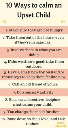 10 ways to calm an upset child; to help you take change and turn the situation around. Because, otherwise the grump just seems to spread around like wildfire. Parenting Toddlers, Parenting Books, Parenting Advice, Parenting Issues, Parenting Styles, Parenting Quotes, Positive Parenting Solutions, Conscious Parenting, Natural Parenting