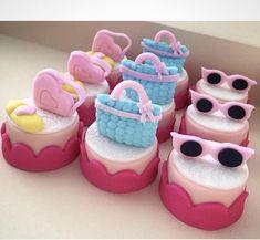 Oreo Treats, Oreo Cookies, Creative Party Ideas, Chocolate Covered Oreos, Cute Cupcakes, Lol Dolls, Mini Cakes, Girl Birthday, Fondant
