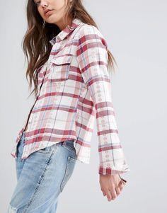 Image 3 ofHollister Western Check Shirt