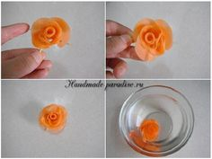 How To Make Roses Out Of Carrot