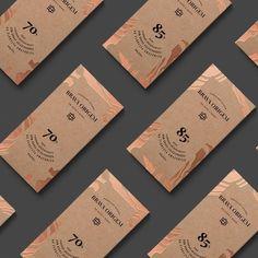 We 🧡 Chocolate Packagings. Organic Packaging, Cool Packaging, Luxury Packaging, Food Packaging Design, Tea Packaging, Packaging Design Inspiration, Brand Packaging, Branding Design, Bottle Packaging