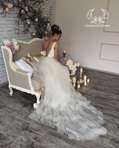 Wedding dress bridal gown wedding dress Pandora by DressesLioness