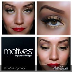 "#motivesbymary ""Created a look today with some of my favorite Motive products #motivescosmetics"