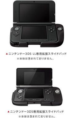 ニンテンドー3DS LL専用拡張スライドパッド Cloud Gaming, Nintendo Consoles, Product Design, Future, Games, Accessories, Portable Game Console, Future Tense, Gaming