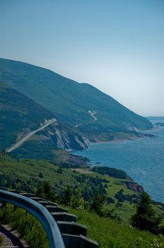 Cabot Trail, Cape Breton Highlands National Park, Nova Scotia #Canada