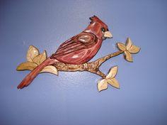 Cardinal.  Kathy Wise pattern design