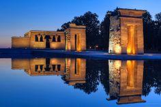 Madrid Blue Hour Reflections - EXPLORED! Thank you :-) | Flickr: partage de photos!