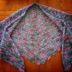 From MyCrochetory on Etsy: Original modern crochet patterns PDF Crochet Cable, Crochet Chart, Shawl Patterns, Crochet Patterns, Crochet Triangle, Moss Stitch, Yarn Brands, Pdf, Lace