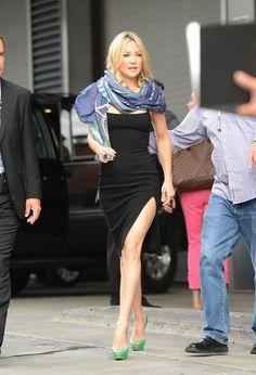 Kate Hudson Black Dress at Toronto Film Festival