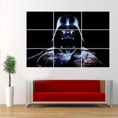 """36""""x52"""" Huge Poster Star Wars The Dark Knight Darth Vader Room Decor Wall Art #postercanvas #ArtDeco"""