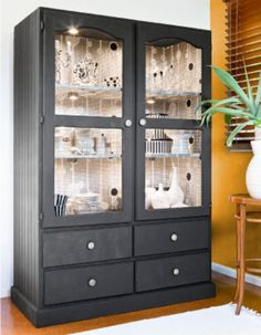 How to: Give an old wardrobe an extreme make-over for a great new look.