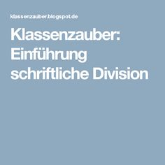 Arbeitsblätter: Matheaufgaben für Division | Schulmaterial ...