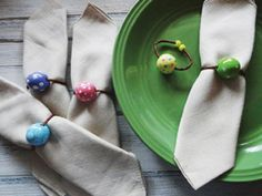 Spring Napkin Rings by Craftsmart Paint™