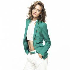 Cropped top + blazer chic, le bon mix?