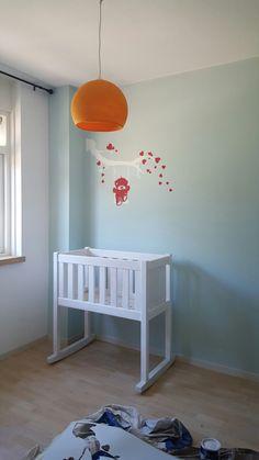 Muurschildering van sjabloon