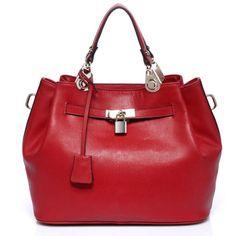 Vicenzo-Phebean-Italian-Leather-Tote-Handbag-Red-Designer-Fashion-New