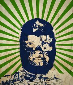 EL VERDADERO SANTO   www.facebook.com/tokuehnefotografie  #lucha libre #wrestling #mexico