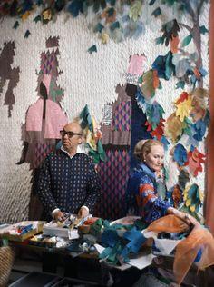 Tony & Elizabeth Duquette at work
