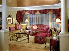 Traditional Living-areas from Phyllis Harbinger on HGTV