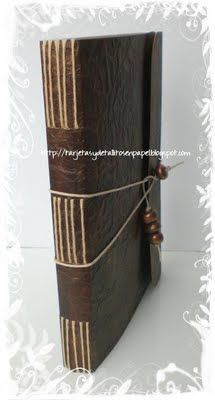 leather binding of thesis