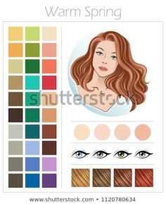 Deep Autumn Color Type Appearance Women Stock Vector (Royalty Free) 1120761968 Similar Images, Stock Photos & Vectors of Warm autumn. Color type of appearance of women. With a palette of colors suitable for this type of appearance. Soft Summer, Warm Spring, Clear Spring, Light Spring, Soft Autumn Deep, Warm Autumn, Soft Autumn Color Palette, Color Type, Seasonal Color Analysis