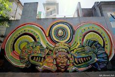 buenos aires graffiti serpiente empulada guache buenosairesstreetart.com