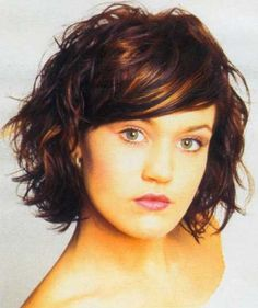 Short Wavy Haircuts | 2013 Short Haircut for Women-love the bangs
