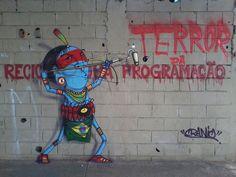 #streetart #cranio  CRANIO. Brasil. #streetart #Brazil #Cranio