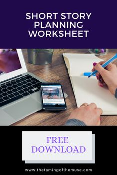 Short Story Brainstorming Worksheet – Free Download – Short Story Writing.  Short Story Worksheet.  Short Story Planning. Short Story Writing Tips, Writing A Book, Story Planning, Writing Worksheets, Short Stories, How Are You Feeling, How To Plan, Free, Write A Book