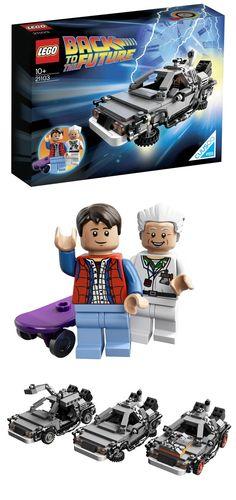 Retour vers le Futur en #lego ! Marty Mcfly, Back To The Future, Future Car, Lego Factory, New Cinema, Bttf, Car Memes, Lego Creations, Jokes