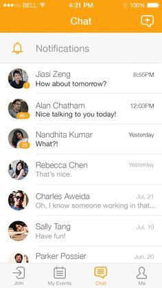 _0006_chat Mobile Ui Design, Ui Ux Design, Ux Wireframe, Ios Ui, Mobile Web, Tablet Phone, Ui Inspiration, User Interface Design, Potato