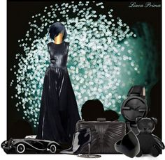 """""""Black Beauty"""" by linea-prima ❤ liked on Polyvore"""