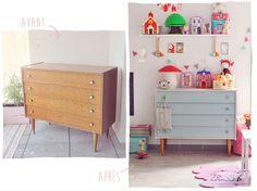 Bedroom Vintage, Furniture, Furniture Makeover, Furniture Renovation, Home Diy, Furniture Hacks, Diy Furniture, Redo Furniture, Baby Deco